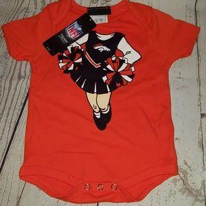 12m infant girls Denver Broncos NFL tshirt